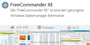 Infocard FreeCommander XE
