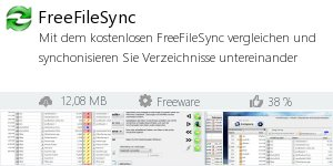 Infocard FreeFileSync