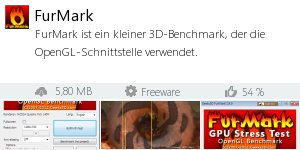 Infocard FurMark