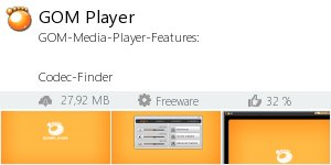 Infocard GOM Player