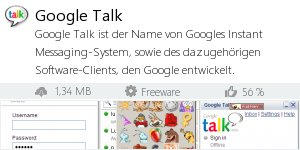 Infocard Google Talk