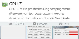 Download GPU-Z bei Filepony.de