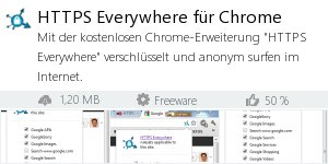 Infocard HTTPS Everywhere für Chrome