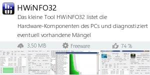 Infocard HWiNFO32 v6.02