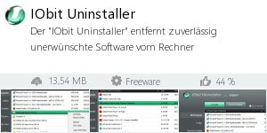 Download IObit Uninstaller bei Filepony.de