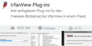 IrfanView Plug-ins - Download - Filepony