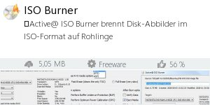 Infocard ISO Burner