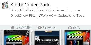 Infocard K-Lite Codec Pack