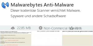 Infocard Malwarebytes Anti-Malware
