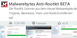 Infocard Malwarebytes Anti-Rootkit BETA
