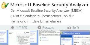 Infocard Microsoft Baseline Security Analyzer