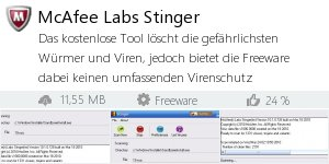 Infocard McAfee Labs Stinger