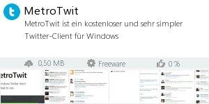 Infocard MetroTwit