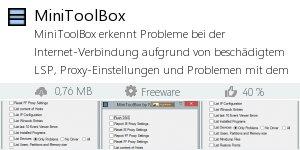 Infocard MiniToolBox