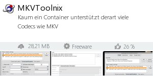 Infocard MKVToolnix