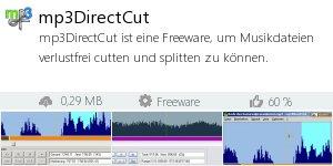 Infocard mp3DirectCut