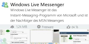 Infocard Windows Live Messenger