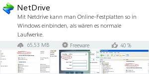 Infocard NetDrive