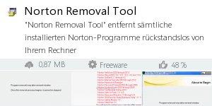 Infocard Norton Removal Tool