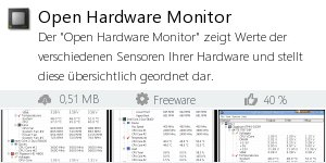 Infocard Open Hardware Monitor
