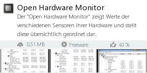 Infocard Open Hardware Monitor