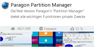 Infocard Paragon Partition Manager