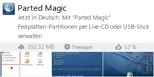 Infocard Parted Magic