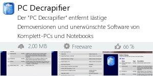 Infocard PC Decrapifier