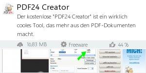 Infocard PDF24 Creator