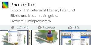 Infocard PhotoFiltre
