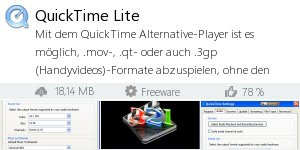 Infocard QuickTime Lite