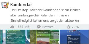 Infocard Rainlendar