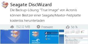 Infocard Seagate DiscWizard