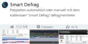 Infocard Smart Defrag