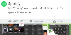 Infocard Spotify