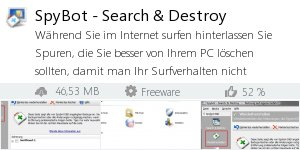 Infocard SpyBot - Search & Destroy