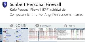 Infocard Sunbelt Personal Firewall