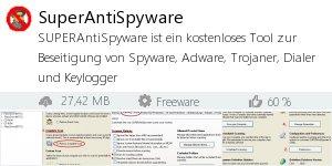 Infocard SuperAntiSpyware