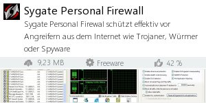 Infocard Sygate Personal Firewall