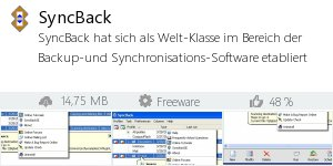 Infocard SyncBack