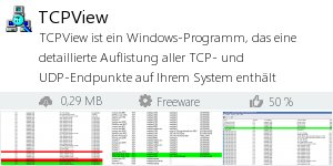 Infocard TCPView
