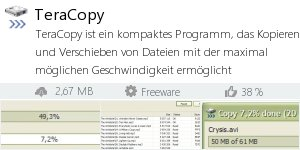 Infocard TeraCopy