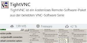 Infocard TightVNC