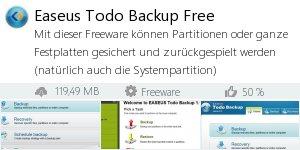 Infocard Easeus Todo Backup Free