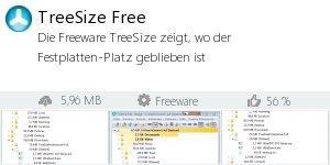 Infocard TreeSize Free