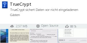 Infocard TrueCrypt