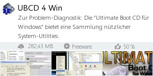 Infocard Ultimate Boot CD für Windows