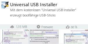 Infocard Universal USB Installer