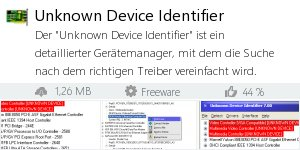 Infocard Unknown Device Identifier