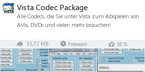Infocard Vista Codec Package
